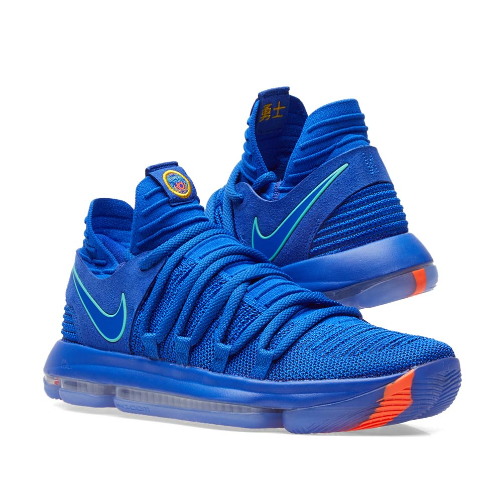 online retailer befe3 a2bf8 Nike Zoom KD10. Blue, Light Menta   Black