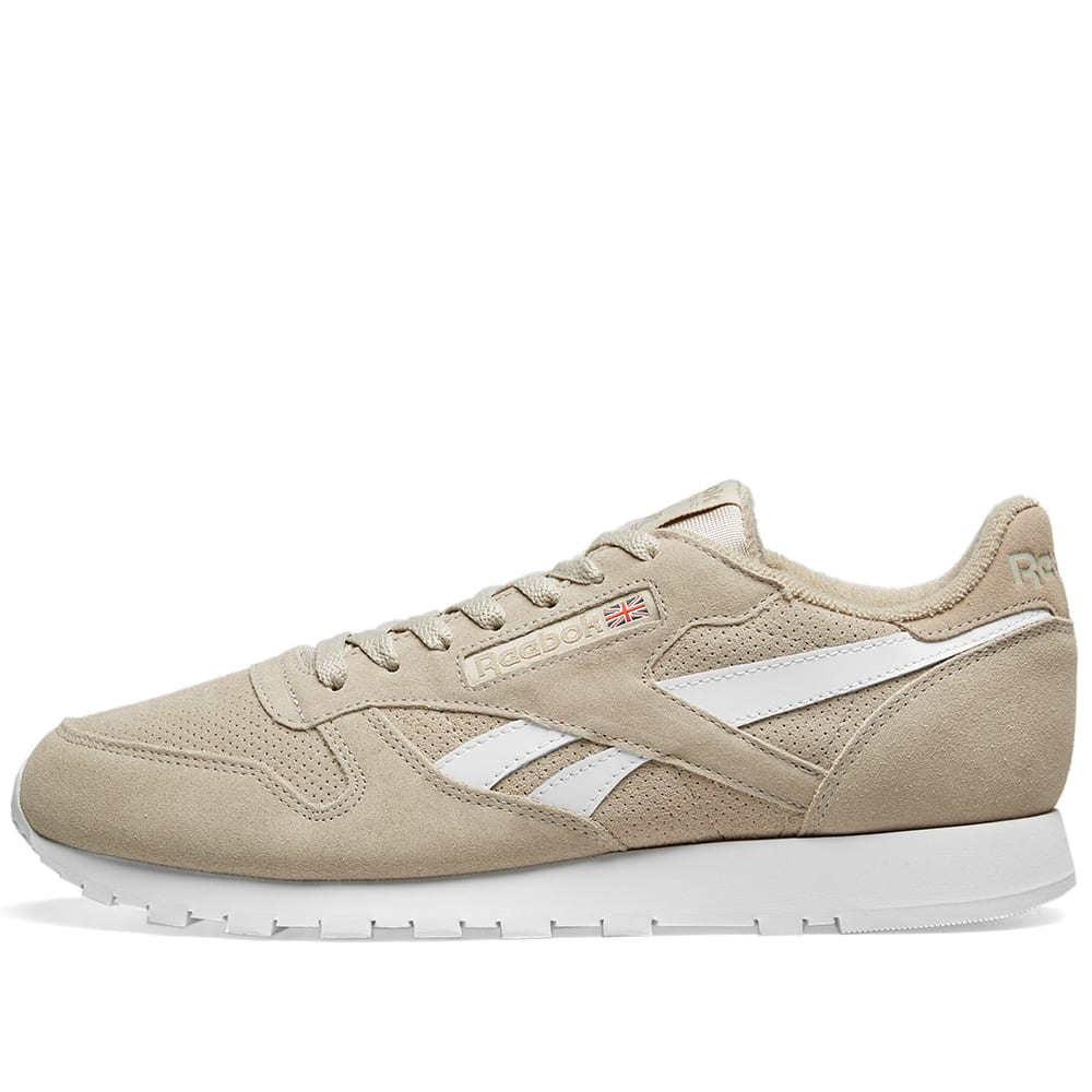 quality design 98dd8 371f6 Reebok Classic Leather Suede Light Sand   Sand Beige   END.