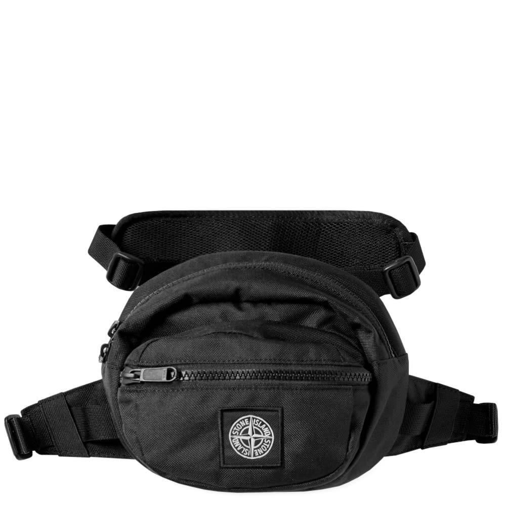 90cb5c78fcc6 Stone Island Logo Waist Pack Black | END.