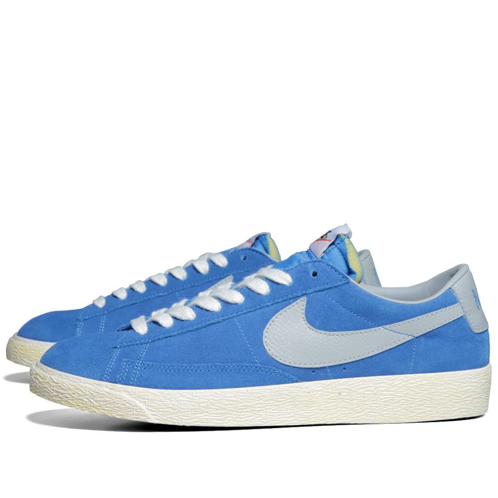 more photos 1d264 29d59 Nike Blazer Low PRM VNTG Suede Photo Blue   Strata Grey   END.