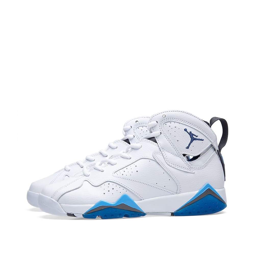 8b6e528a4c35 Nike Air Jordan VII Retro BG  French Blue  White   French Blue