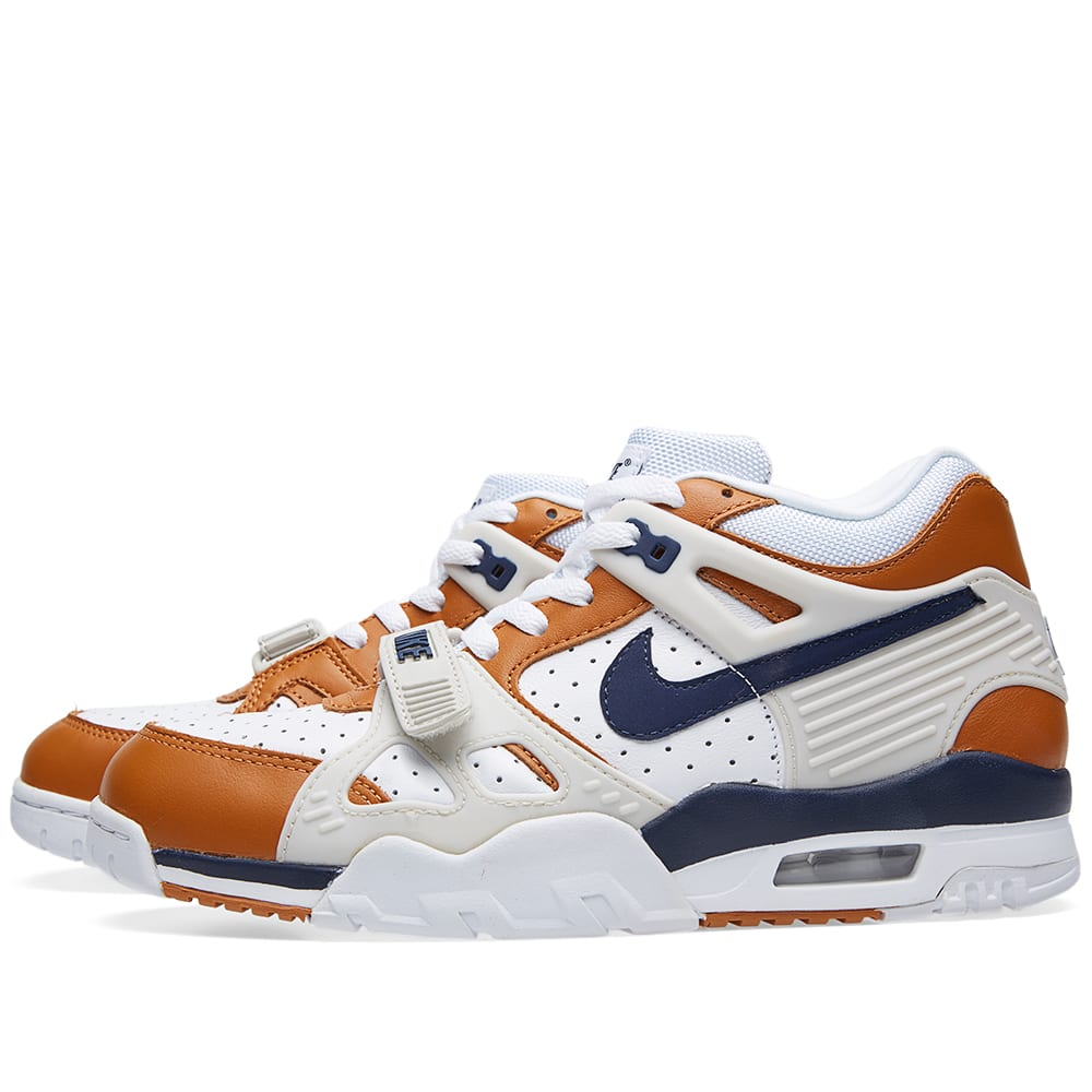 nike air trainer iii premium 39 medicine ball 39 white. Black Bedroom Furniture Sets. Home Design Ideas