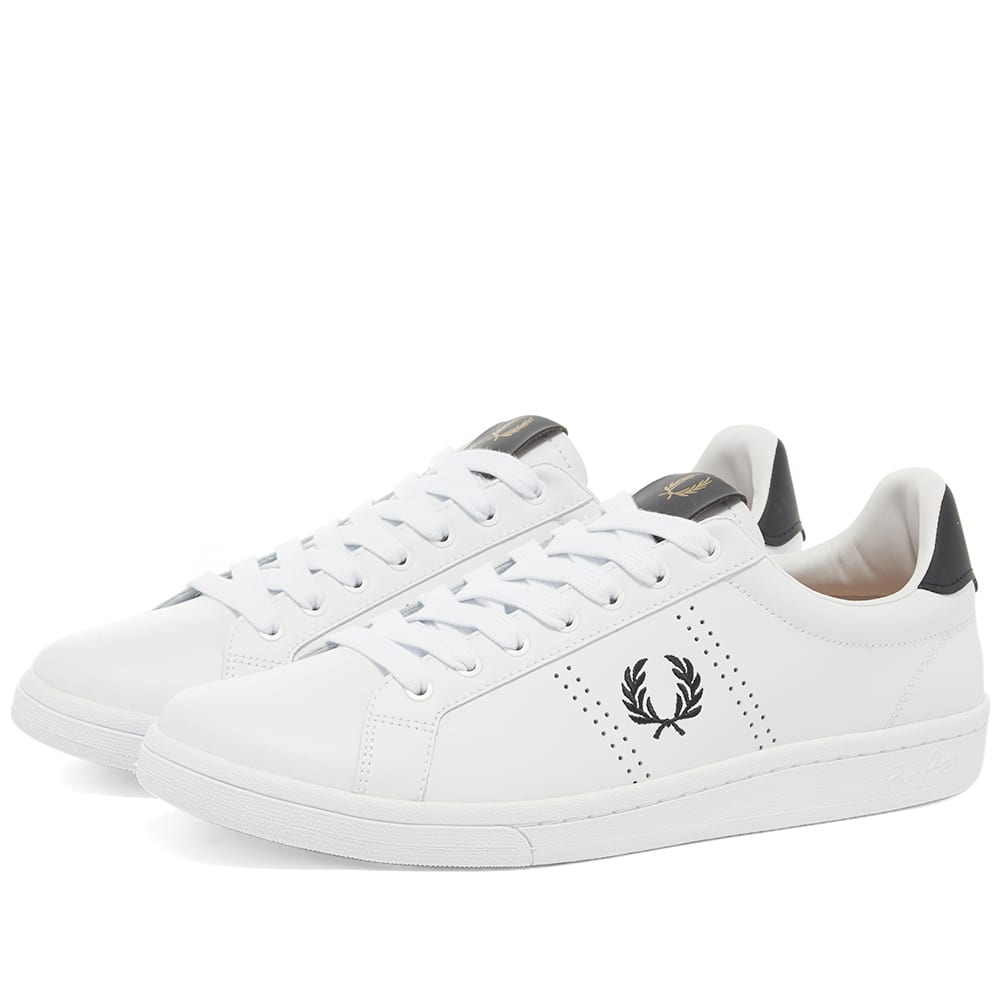 Shoes Leather Trainers Sneakers B721