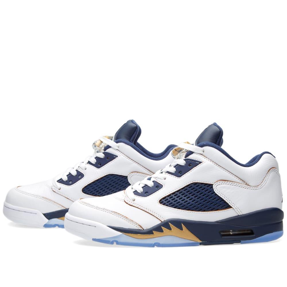 aca0d04b60eb09 Nike Air Jordan 5 Retro Low  Dunk From Above  White