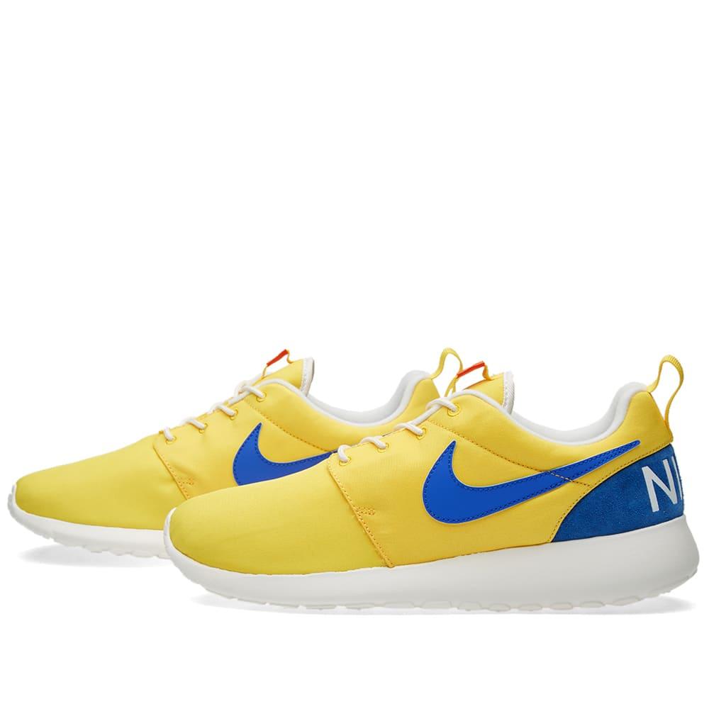 Nike Roshe One Retro Yellow \u0026 Blue | END.