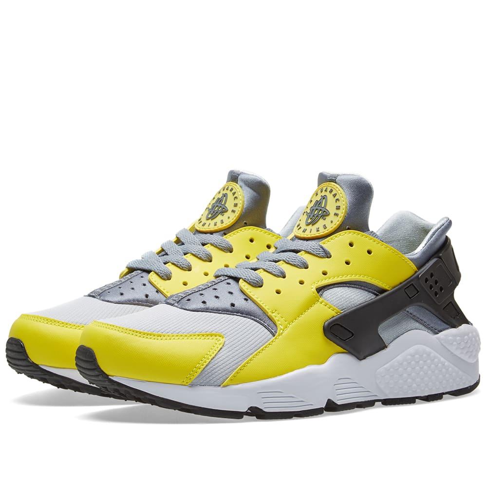 size 40 d29f3 d98bd Nike Air Huarache Electrolime   Cool Grey   END.