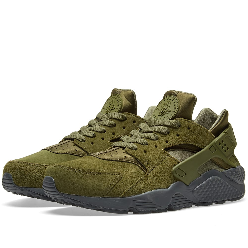 competitive price f0010 c316d Nike Air Huarache Run SE Legion Green   Anthracite   END.