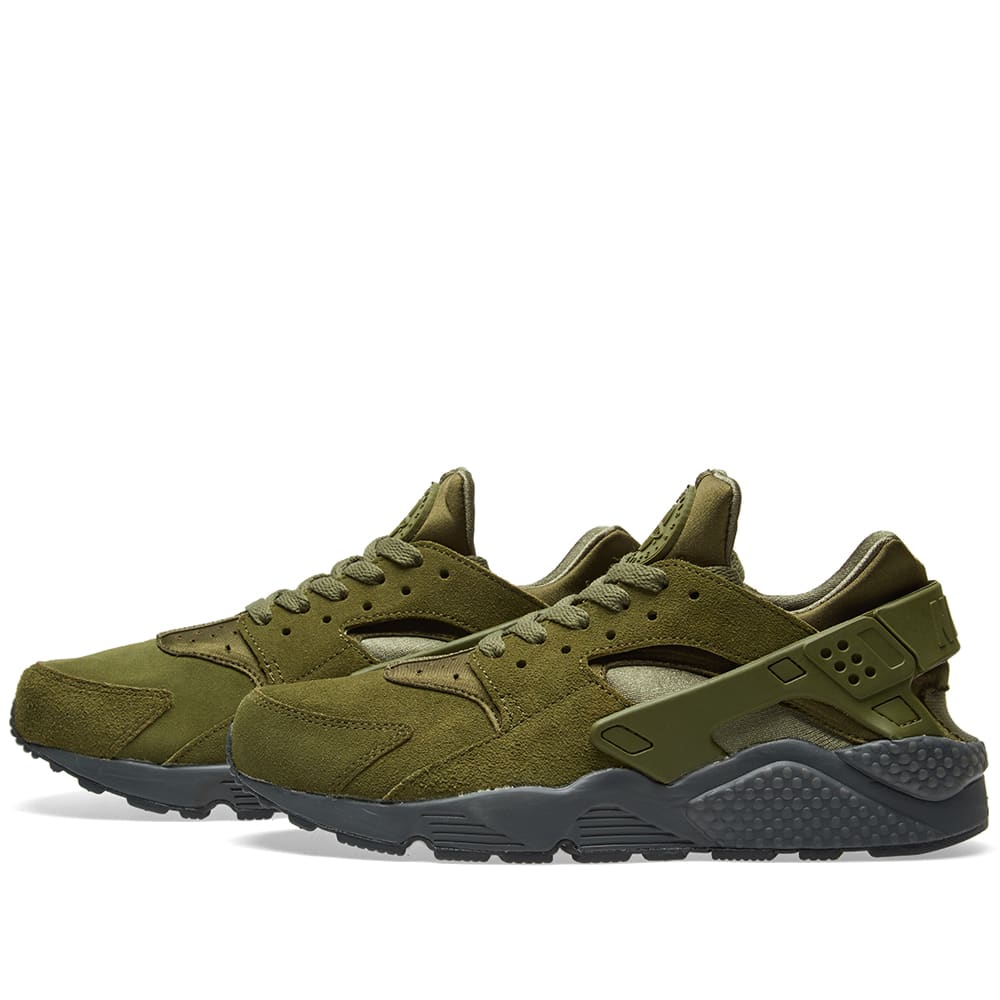 be136c07d0c8 Nike Air Huarache Run SE Legion Green   Anthracite