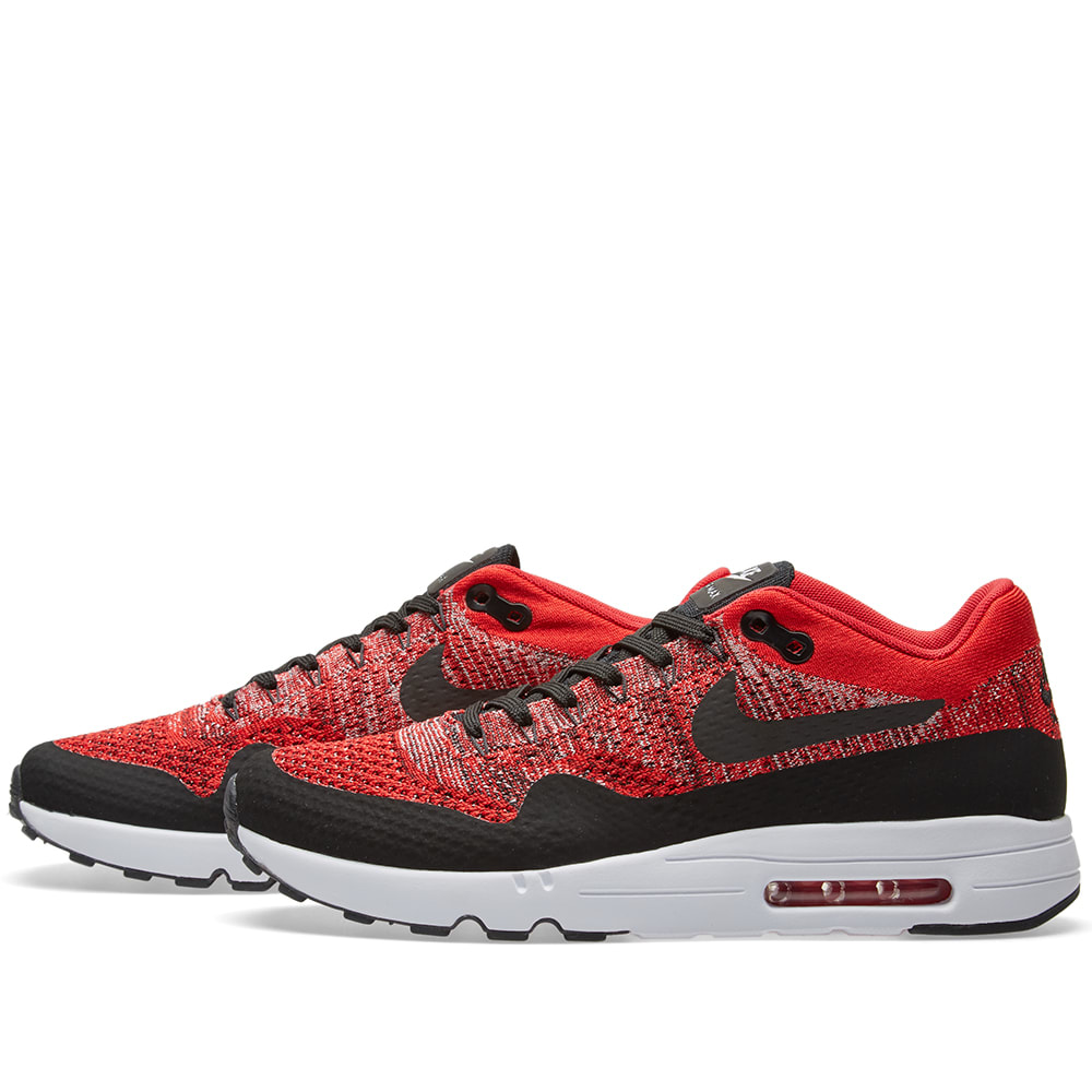 Herren Nike Air Max 1 Ultra 2.0 Flyknit(University Rot