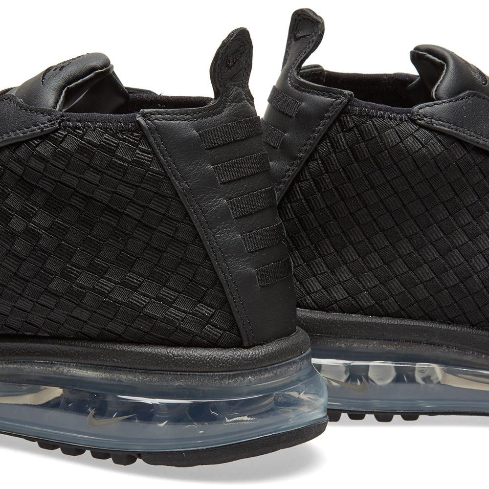 Nike Air Max Woven Boot Black | Black boots, Nike air max