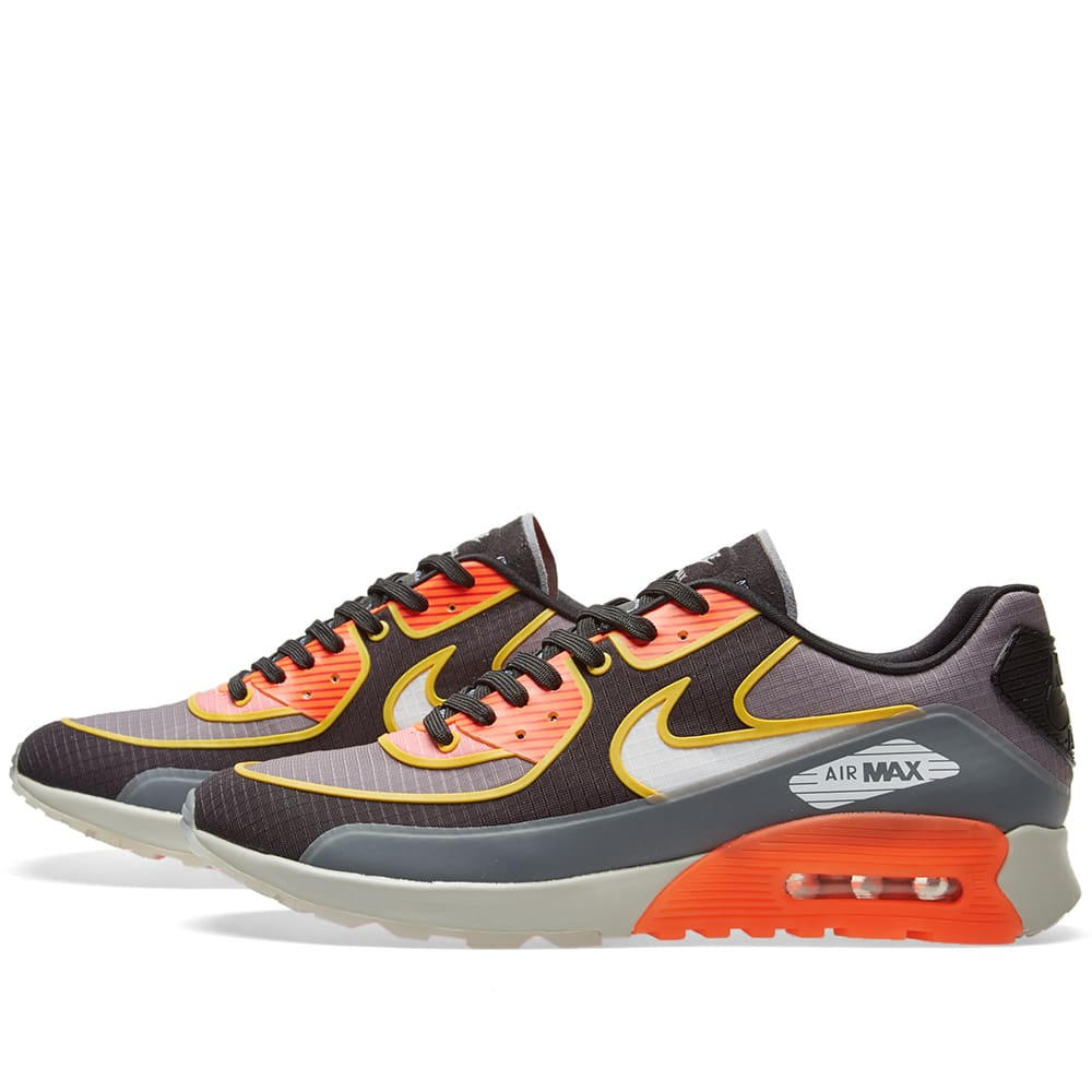 low priced f7469 fc8b8 Nike W Air Max 90 Ultra 2.0 SI Cool Grey   Total Crimson   END.