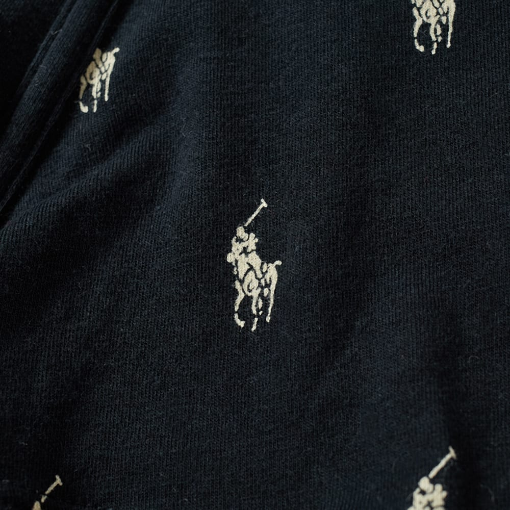 8ffb44da1a03bb Polo Ralph Lauren All Over Print Trunk Polo Black & White | END.