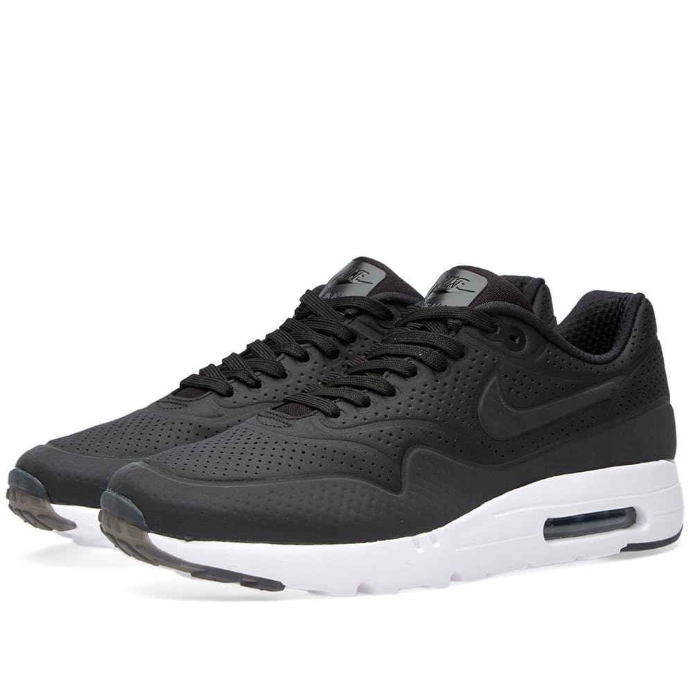 Top rated Nike Air Max 1 Ultra Moire Trainer Women [Black