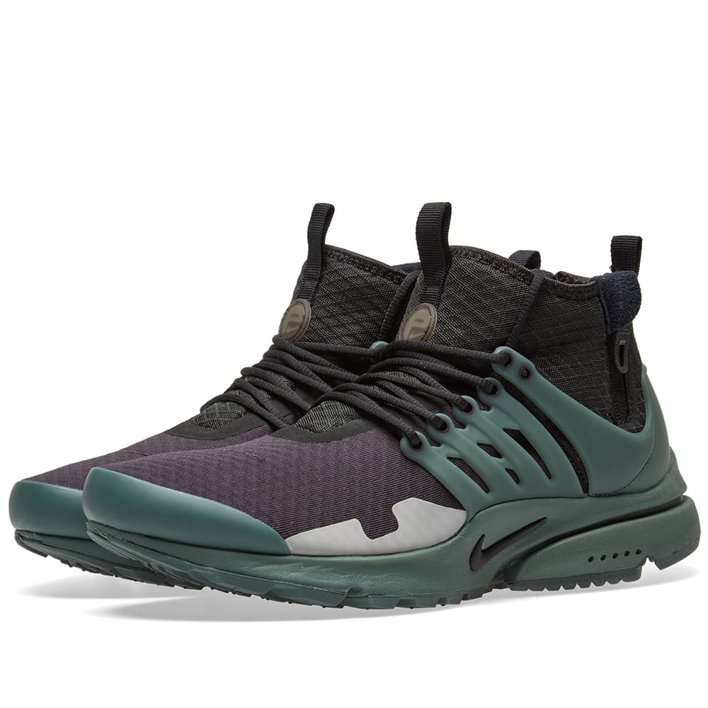 new styles d9418 3f98a Nike Air Presto Mid SP Black, Vintage Green   Silver   END.
