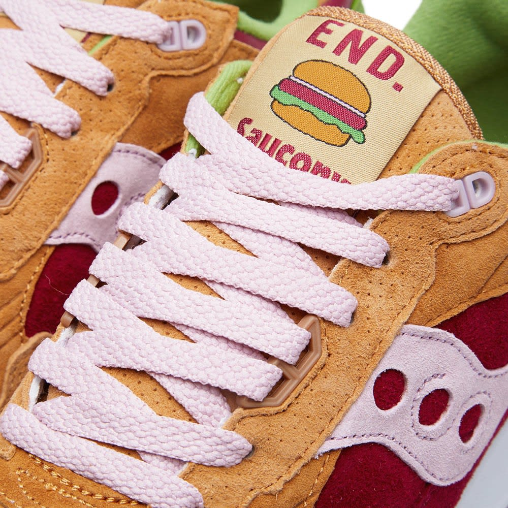competitive price 58047 6b92a END. x Saucony Shadow 5000 'Burger'