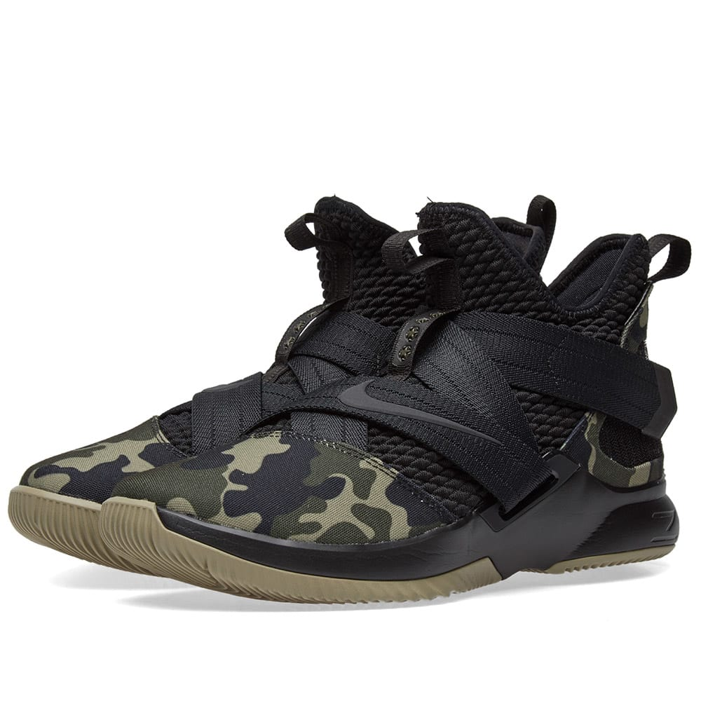 low priced 3d613 76a8c Nike Lebron Soldier XII SFG Black   Hazel Rush   END.