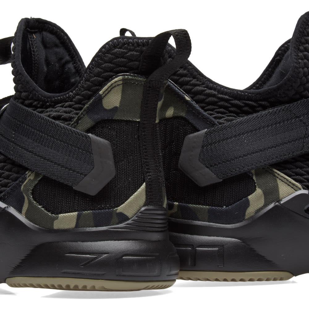 b00c6a75842 Nike Lebron Soldier XII SFG Black   Hazel Rush