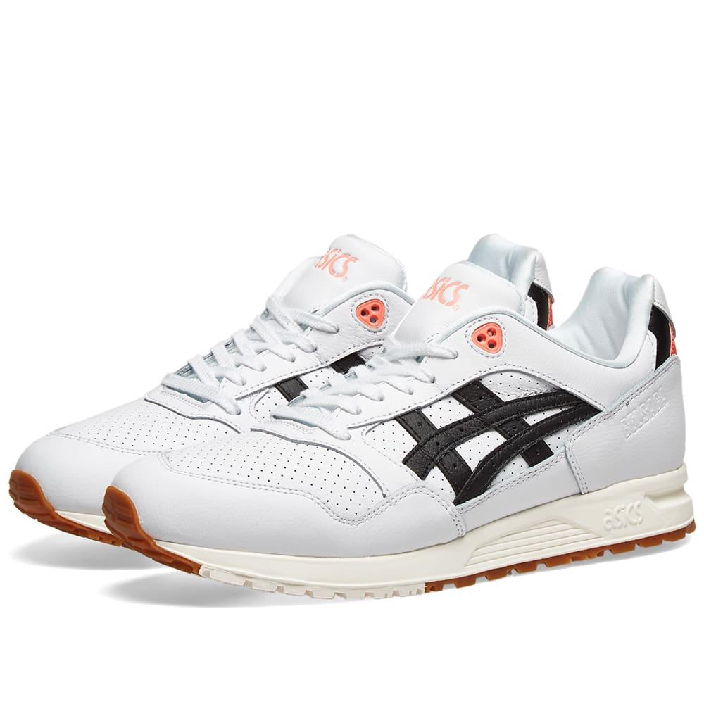 code promo f1f2d 3a96b Asics Gel Saga Leather White & Black | END.