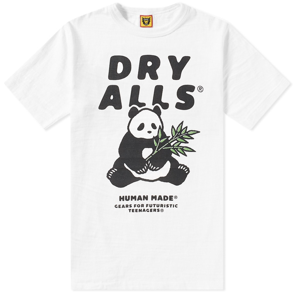 a12a095585a4bc Human Made Dry Alls Panda Tee White