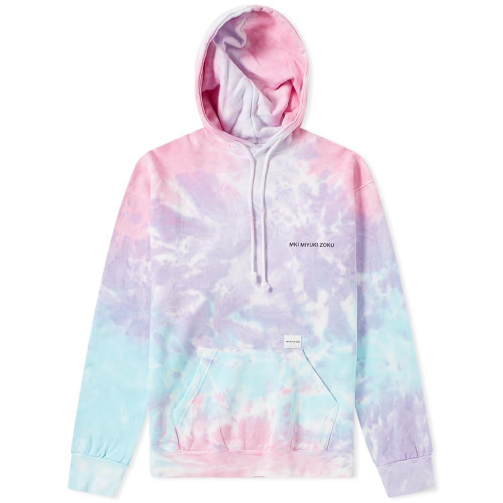 MKI MIYUKI ZOKU | MKI Tie Dye Hoody Candy | Goxip