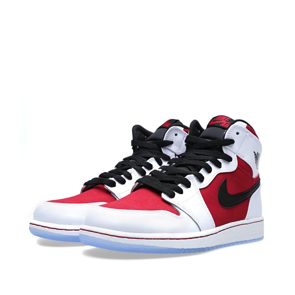trampki wyprzedaż ze zniżką świetne okazje 2017 Nike Air Jordan 1 Retro High OG BG 'Carmine'