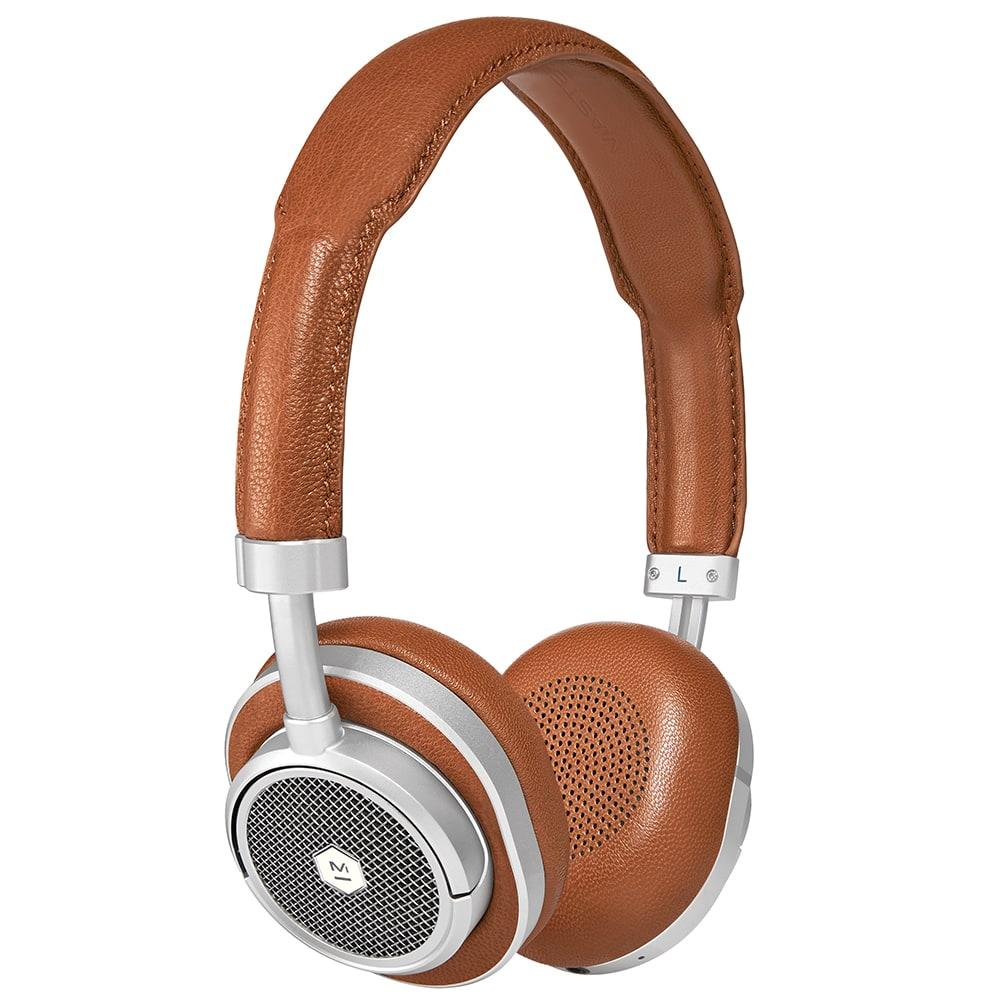 284f3d7dfea Master & Dynamic MW50 Wireless On-Ear Headphones Brown & Silver | END.