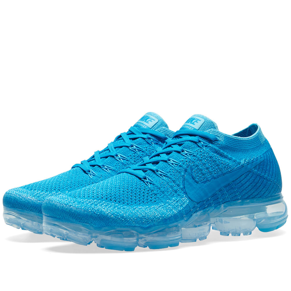 733799bc59b Nike Air Vapormax Flyknit Blue Orbit   Glacier Blue