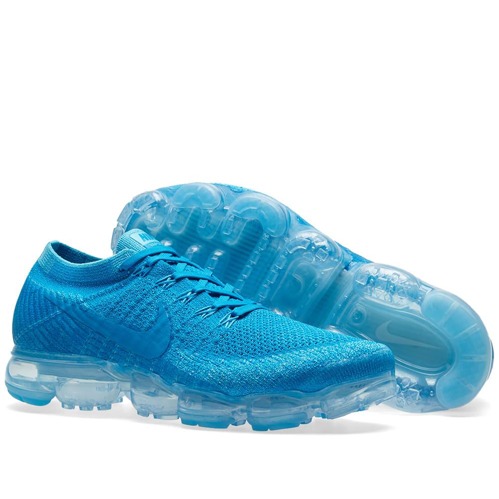 f3b62762df90f Nike Air Vapormax Flyknit Blue Orbit & Glacier Blue | END.