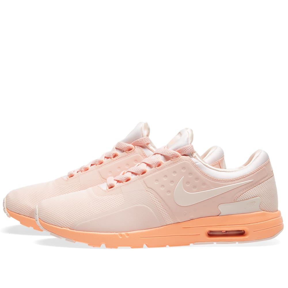 nike w air max zero sunset tint sunset glow. Black Bedroom Furniture Sets. Home Design Ideas