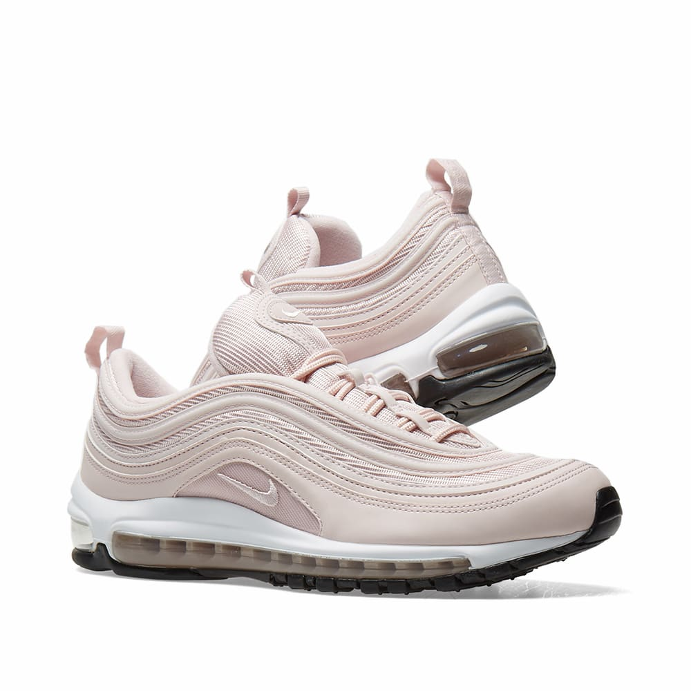 wholesale dealer f25ab cce60 Nike Air Max 97 W. Barely Rose   Black
