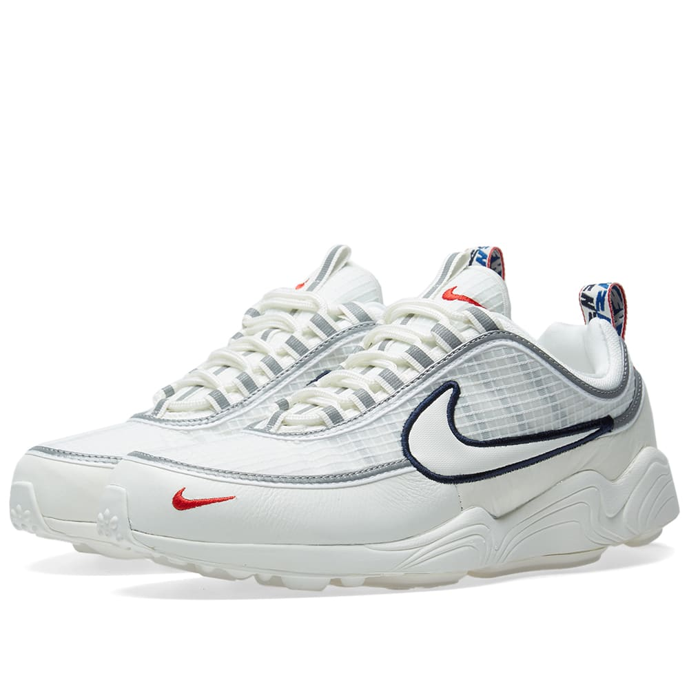 new product e1b24 24c04 Nike Air Zoom Spiridon SE Sail, Red   Obsidian   END.