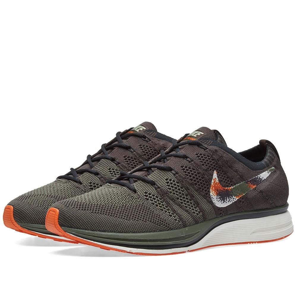 74df479a9e91 Nike Flyknit Trainer Velvet Brown