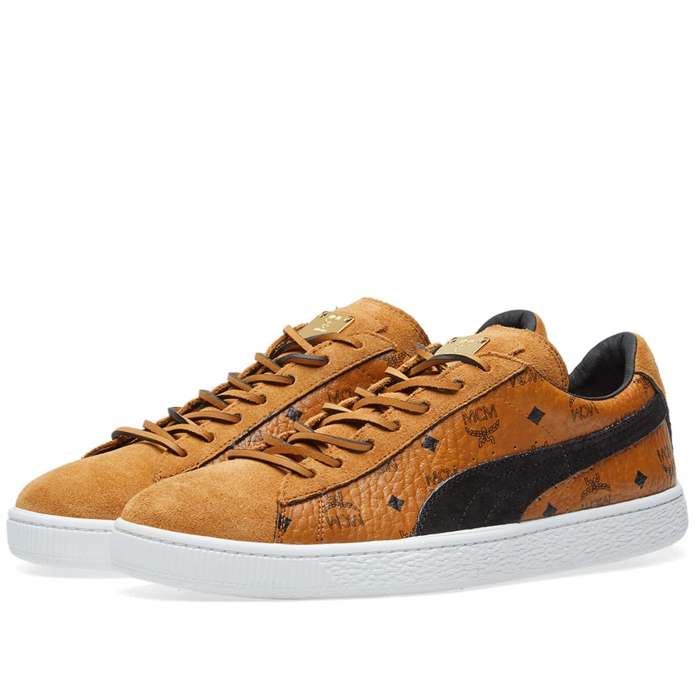 best website 6be34 acf94 Puma x MCM Suede Classic
