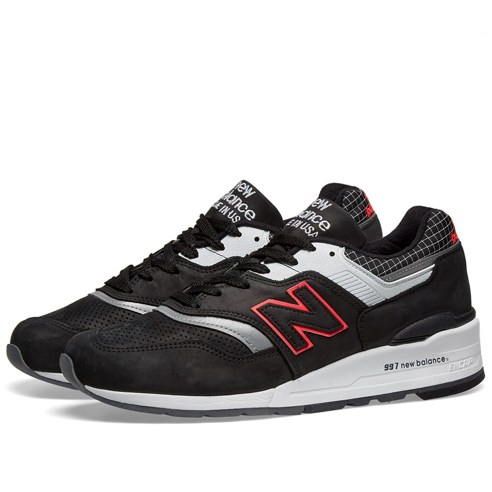 new balance 997 made in usa black
