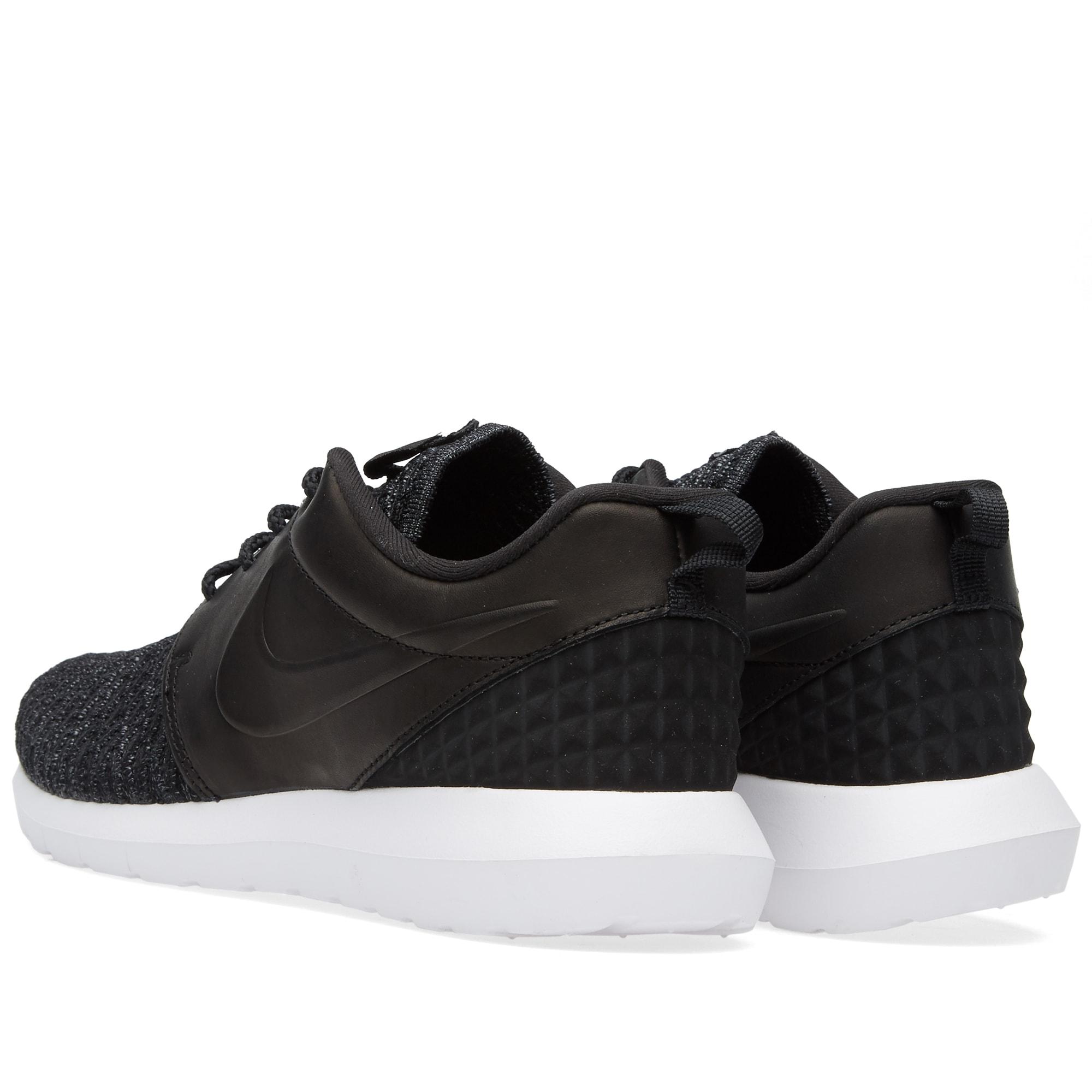 size 40 ba7f9 36cbe Nike Roshe One NM Flyknit Premium Black, Dark Grey   White   END.
