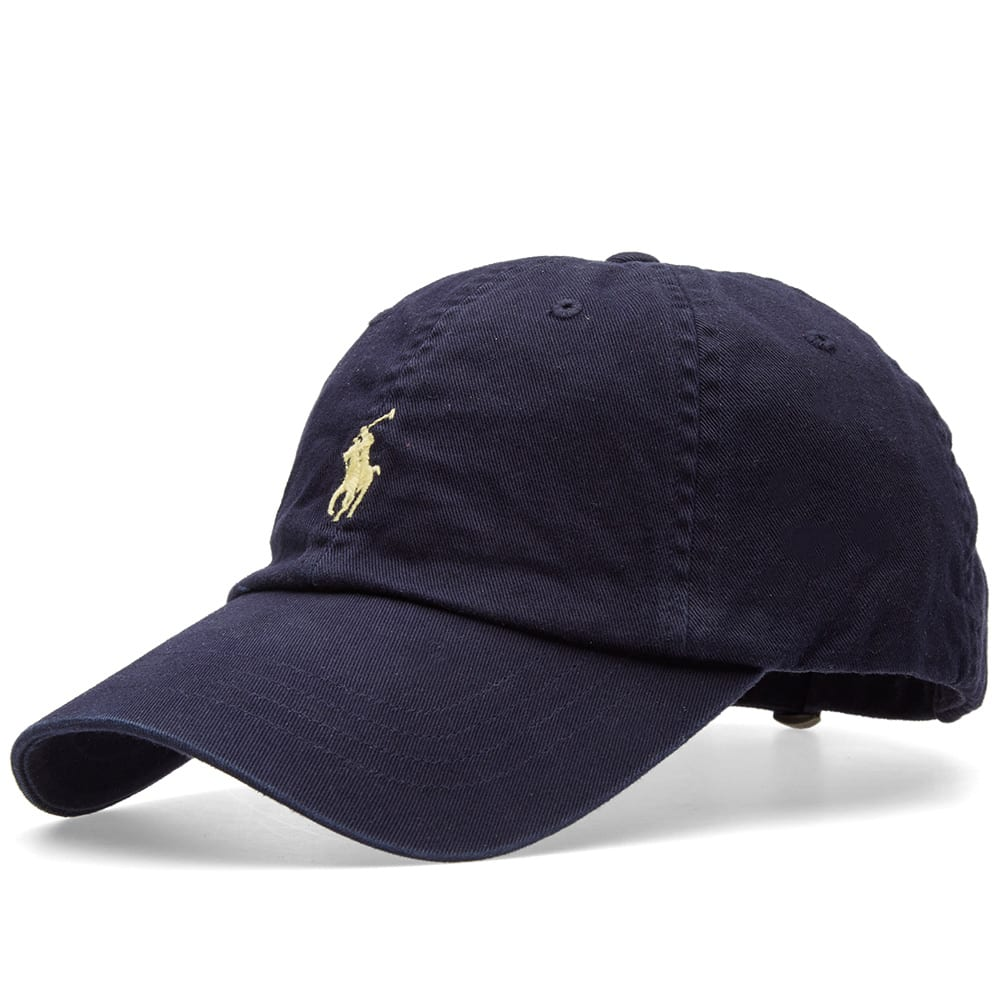 polo ralph lauren classic baseball cap relay blue wicket yellow. Black Bedroom Furniture Sets. Home Design Ideas