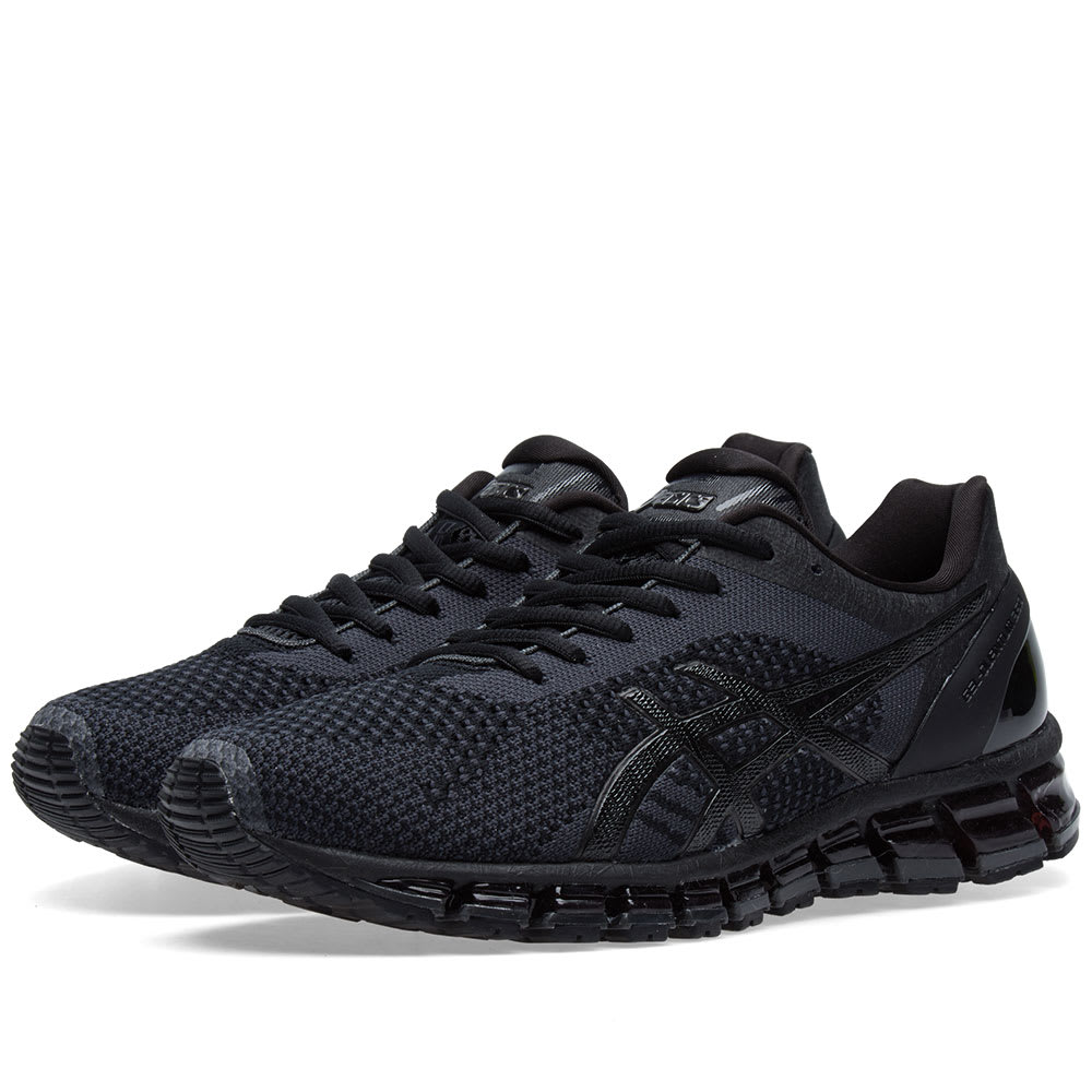 huge selection of 1094d 94a52 Asics Gel Quantum 360 Knit Black, Onyx   Dark Grey   END.