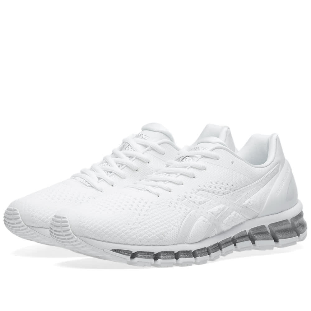premium selection 32cc3 2270e Asics Gel Quantum 360 Knit White, Snow   Silver   END.