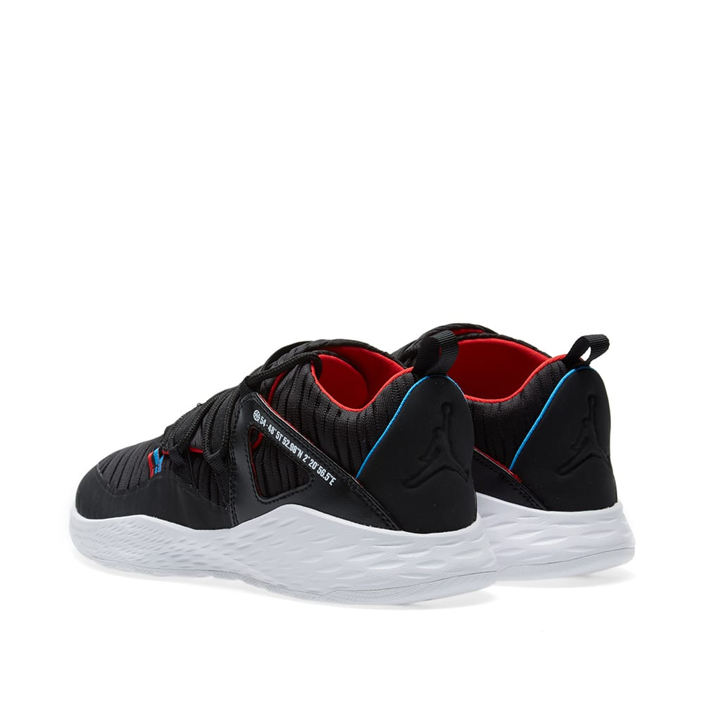 pretty nice 34444 f36e4 Nike Jordan Formula 23 Low Q54 GS Black, Italy Blue   Red   END.
