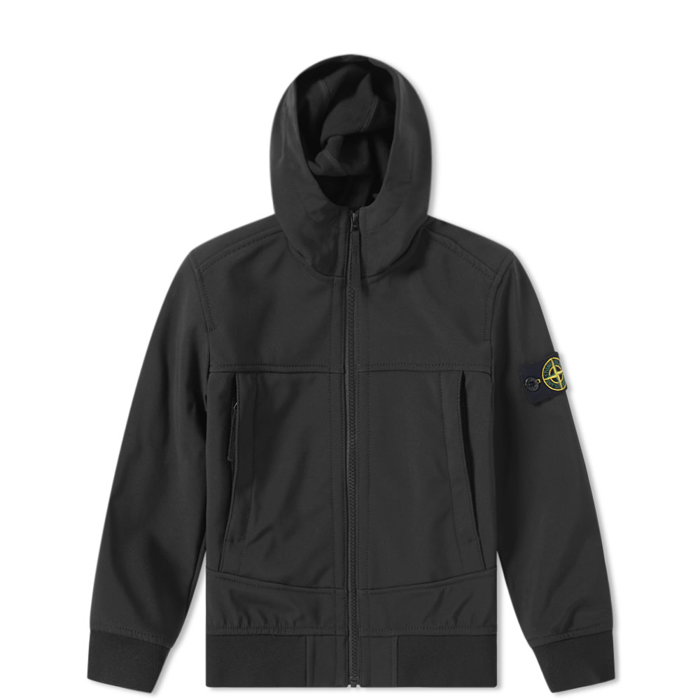 eac5531d0 Stone Island Junior Hooded Soft Shell Jacket