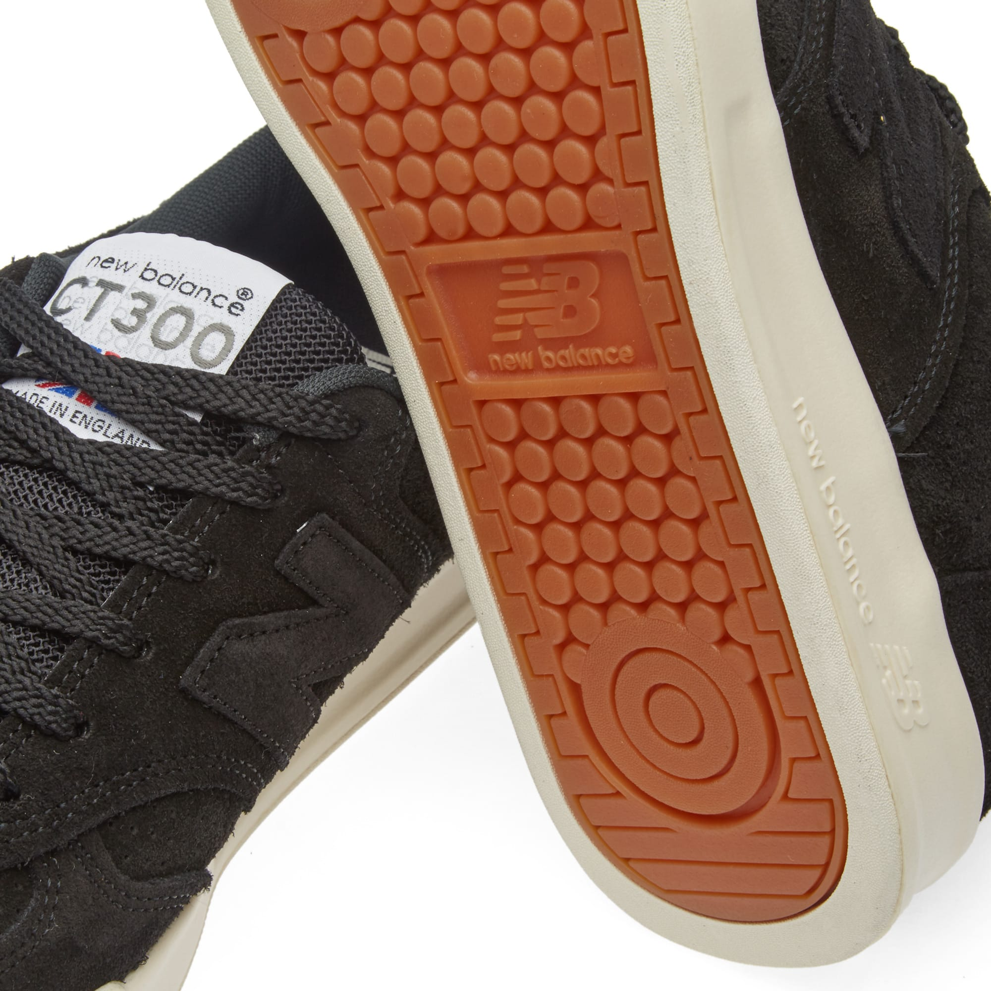 ruptura muerto elevación  New Balance CT300SKK - Made in England Black | END.
