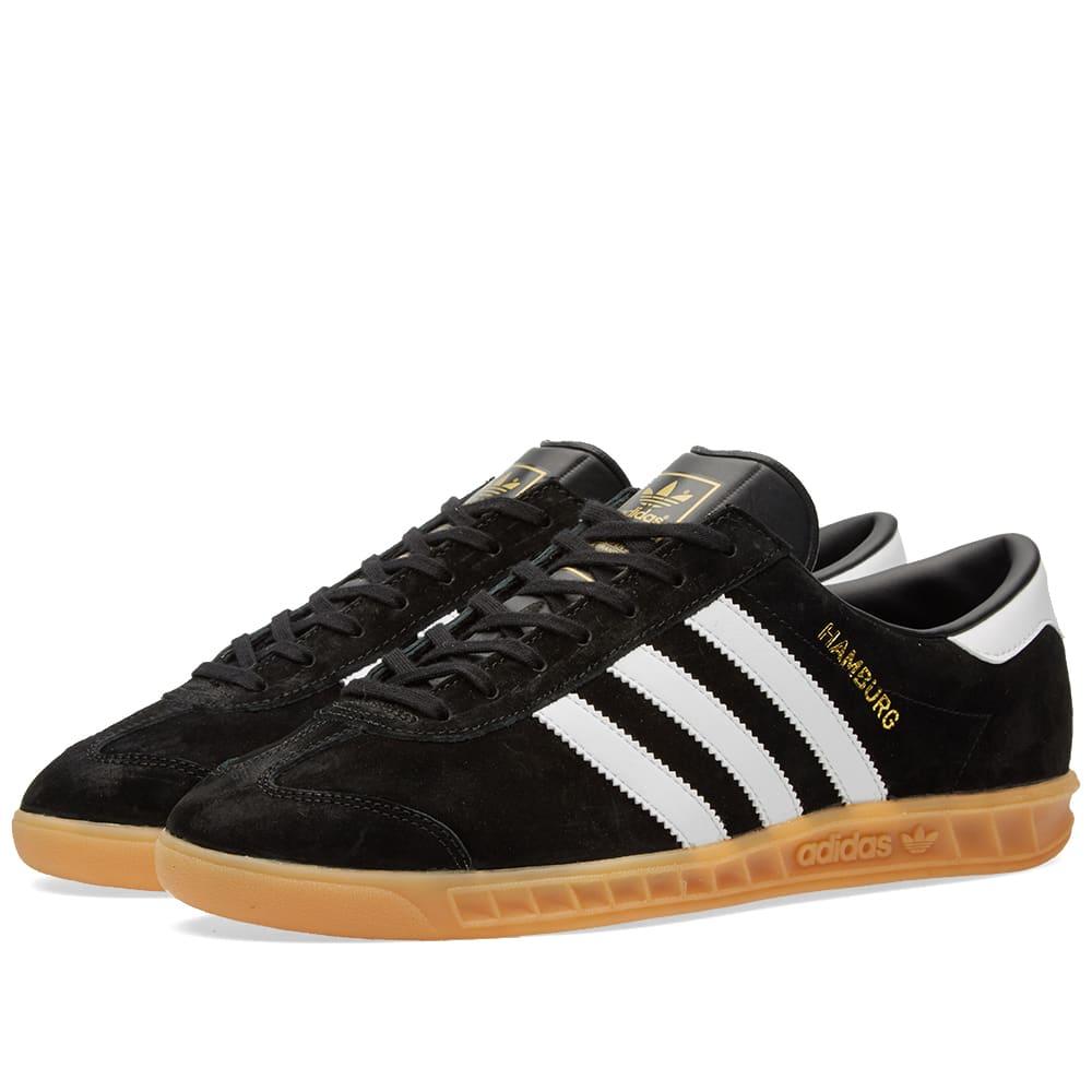 Adidas Hamburg Core Black \u0026 White   END.
