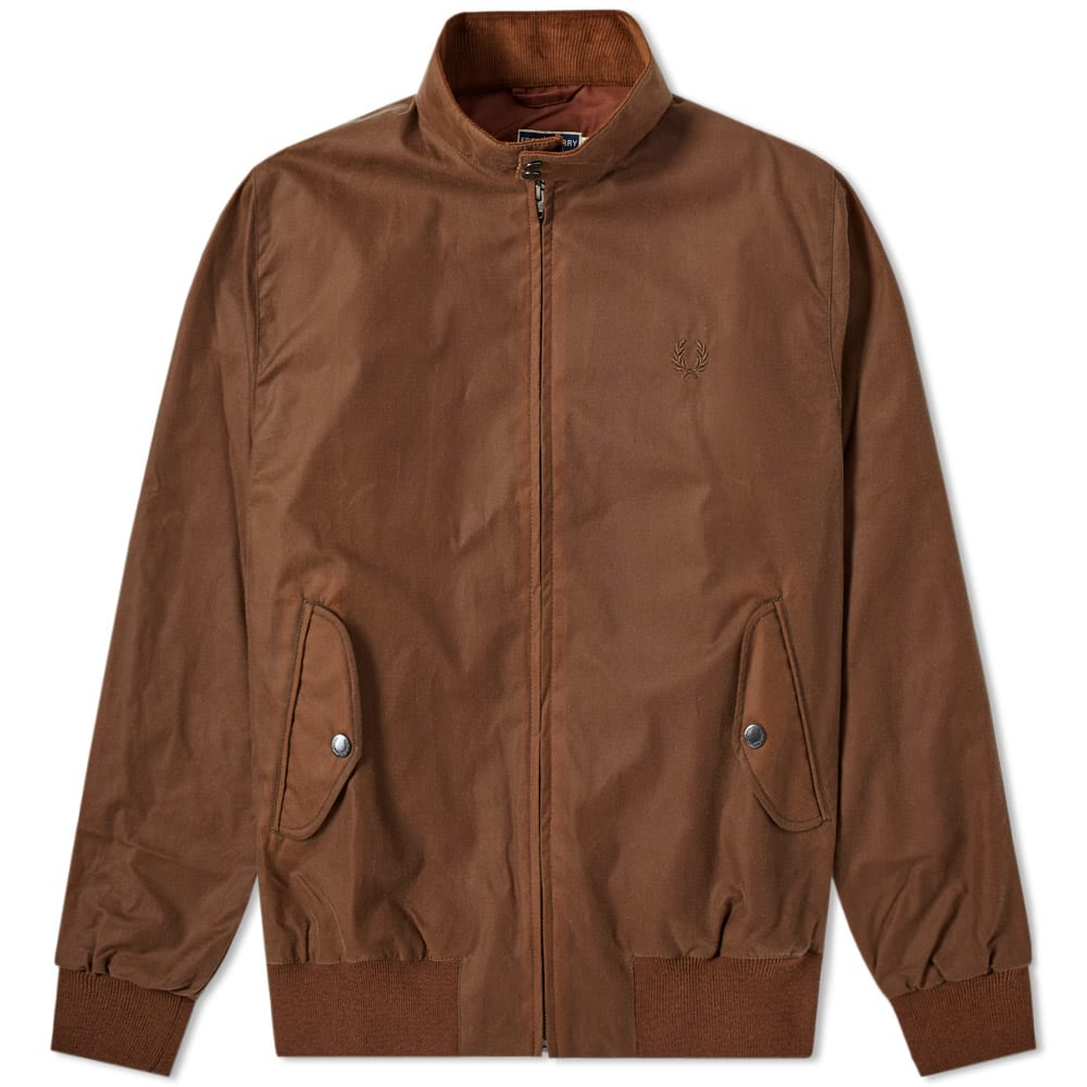 Fred Perry Reissues Made In England Waxed Harrington