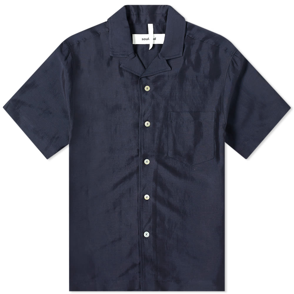 Soulland Soulland Short Sleeve Pappy Shirt