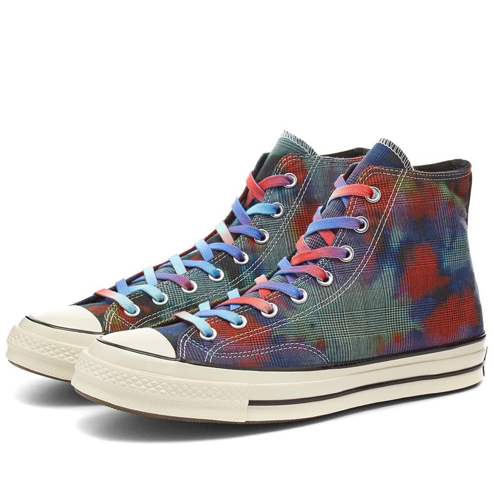 Converse Chuck Taylor 1970s Hi - Tie Dye Plaid