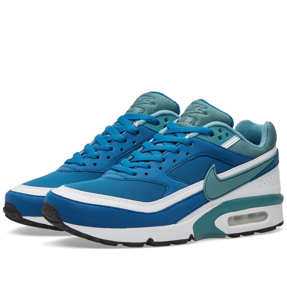 be2aa423ec030 Nike Air Max BW OG Marina, Grey Jade & White | END.