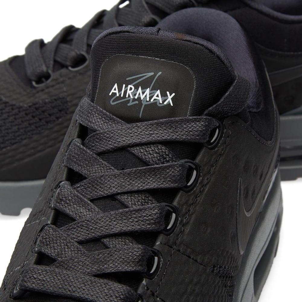 detailed look 5bdae e2814 Nike Air Max Zero QS Black   Dark Grey   END.