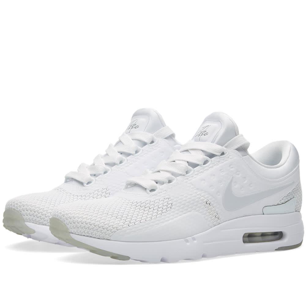 new style 39fe9 a8f8f Nike Air Max Zero QS White   Pure Platinum   END.