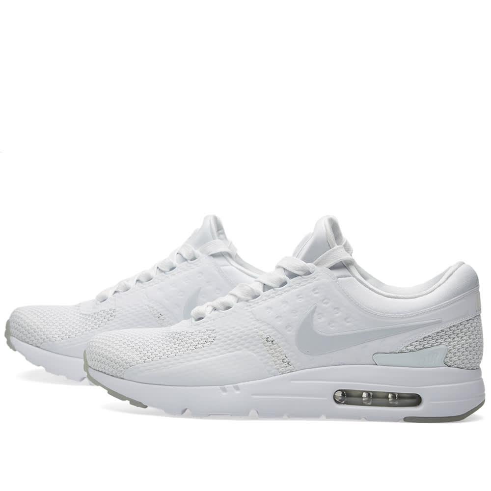 new style e4f96 a267d Nike Air Max Zero QS White   Pure Platinum   END.