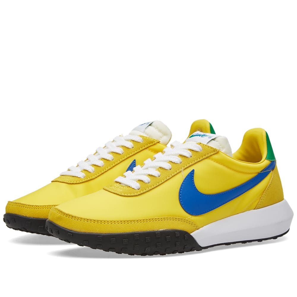 nike roshe waffle racer nm tour yellow hyper cobalt. Black Bedroom Furniture Sets. Home Design Ideas